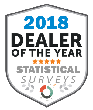 We are the 2018 dealer of the year!